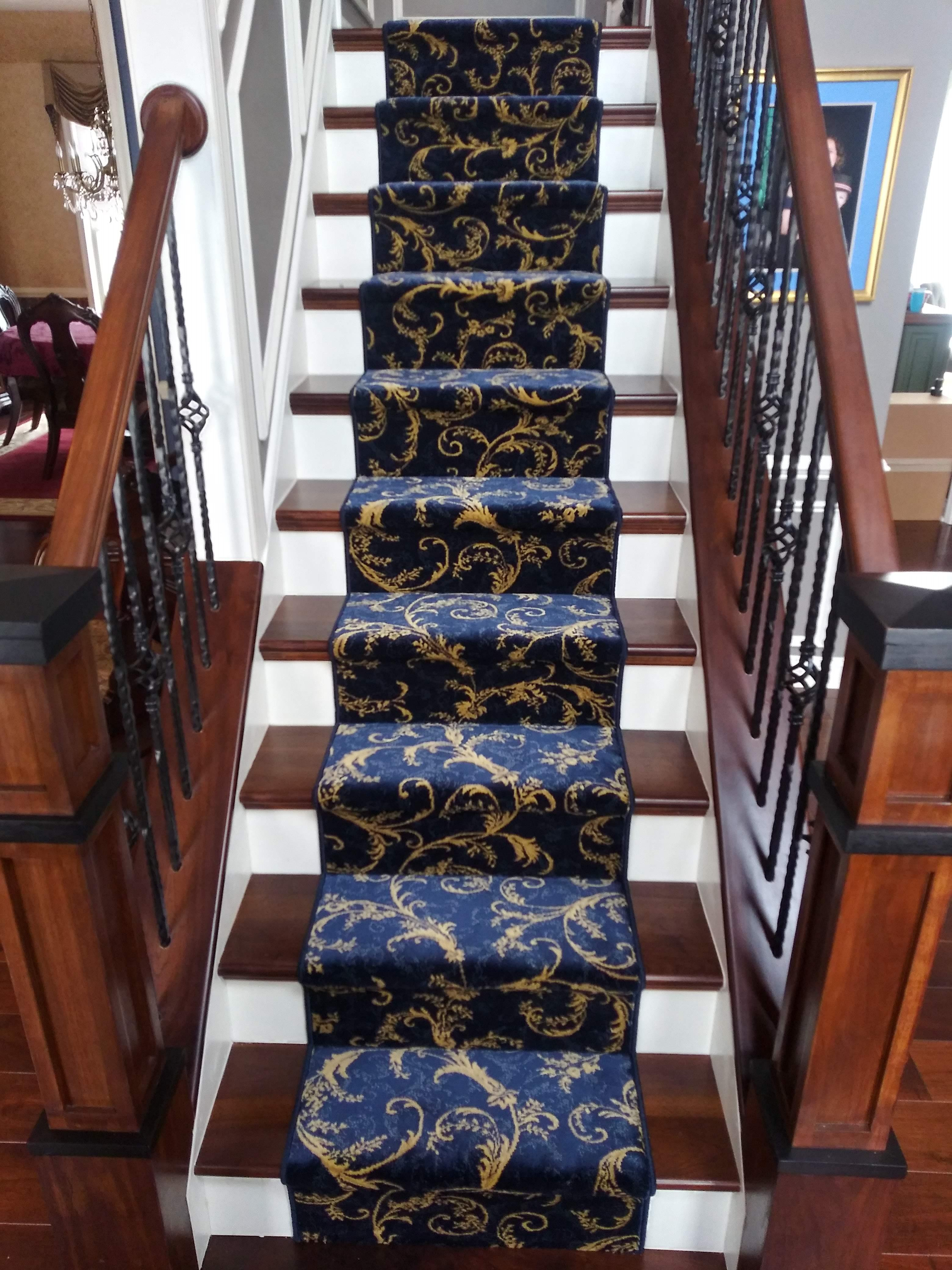 hallway and step carpets